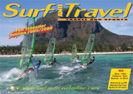 Surf and Travel brochure